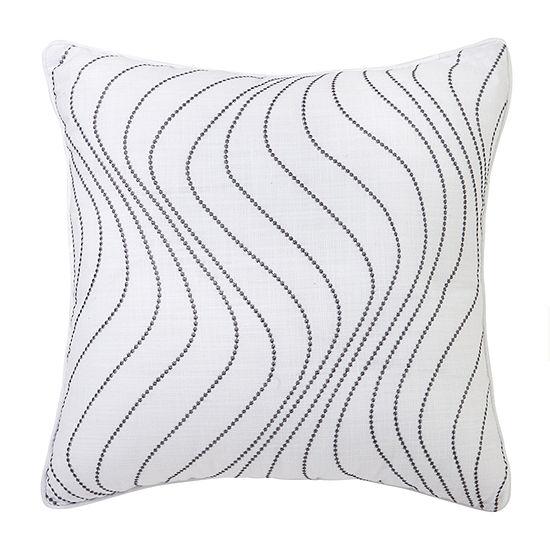 Croscill Classics Saffira Square Throw Pillow