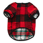 North Pole Trading Co. Reversible Plaid Pet Clothes