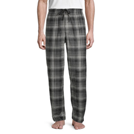 St. John's Bay Mens Fleece Pajama Pants