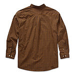 U.S. Polo Assn. Mens Long Sleeve Gingham Button-Down Shirt