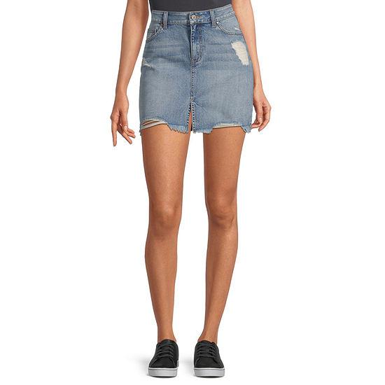 Rewash Womens Denim Skirt-Juniors