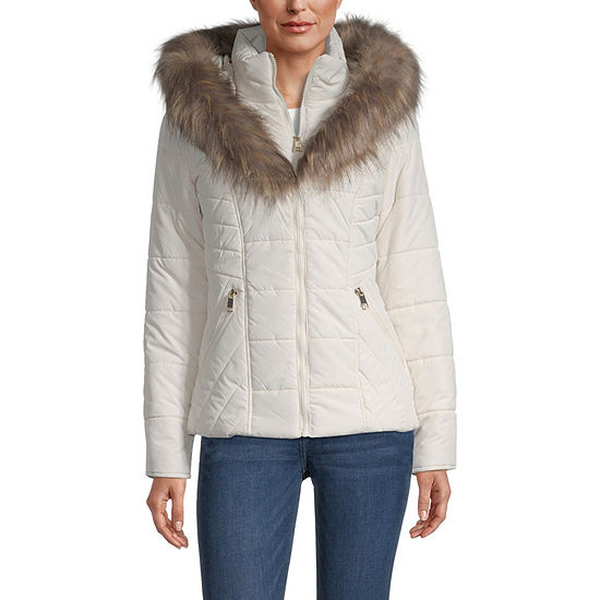 Maralyn And Me Quilted Lightweight Puffer Jacket-Juniors