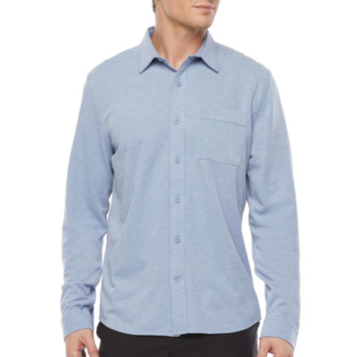 Stylus Athletic Mens Long Sleeve Button-Down Shirt