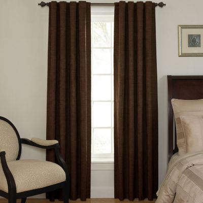 Energy Saving Light-Filtering Back-Tab Single Curtain Panel