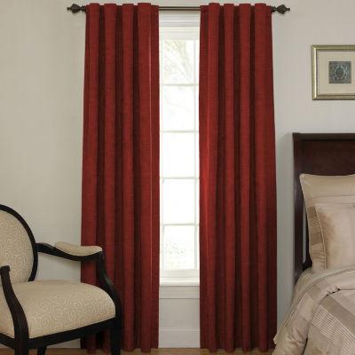 Energy Saving Light-Filtering Back-Tab Single Curtain Panel