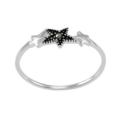 itsy bitsy™ Marcasite Sterling Silver Star Ring