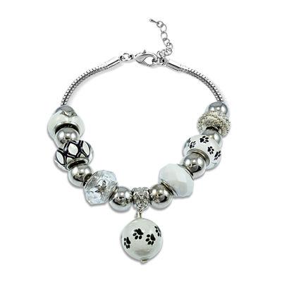 Dazzling Designs™ Cat Paw Bracelet
