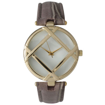 Olivia Pratt Womens Gray Bracelet Watch-14413grey