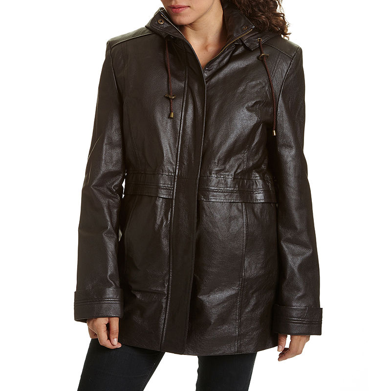 Excelled Hooded Anorak Jacket plus size,  plus size fashion plus size appare