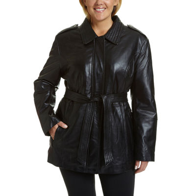 Excelled Belted Hipster Jacket - Plus