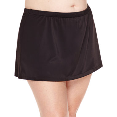Azul by Maxine of Hollywood Swim Skirt-Plus