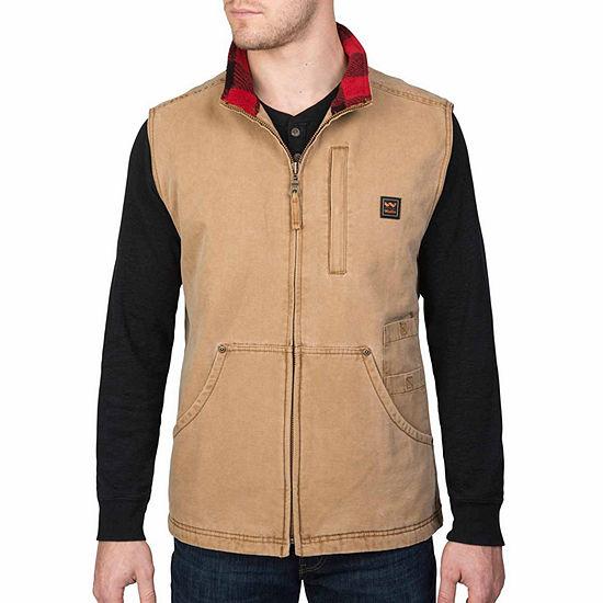 Walls Vintage Pecos Washed Duck Vest