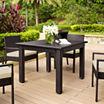 Crosley Palm Harbor Wicker Patio Dining Table
