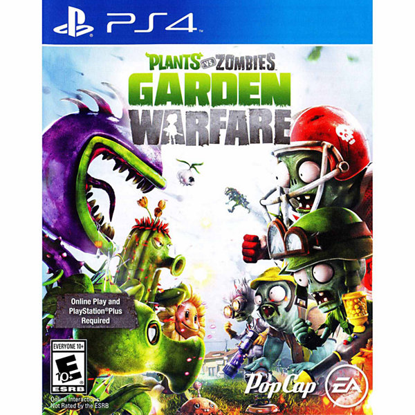 Playstation 4 Plants Vs Zombies Garden Video Game