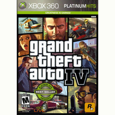 Grand Theft Auto Iv Video Game-XBox 360