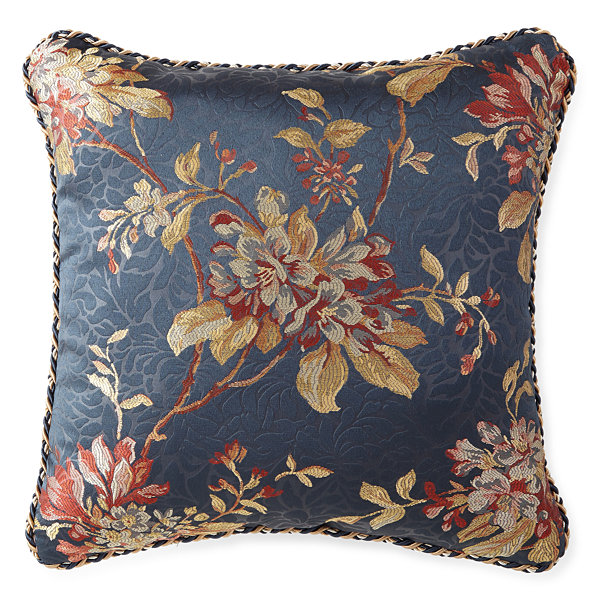 "Croscill Classics® Calice 18"" Square Decorative Pillow"