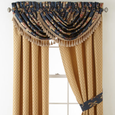 Croscill Classics® Calice 2-pack Rod-Pocket Curtain Panel