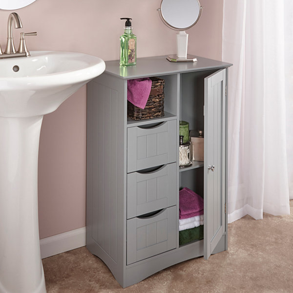 Free standing bathroom cabinet jcpenney for Bathroom cabinets jcpenney