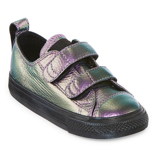 0f785d35db Converse Chuck Taylor All Star 2v Ox Girls Sneakers - Toddler - JCPenney