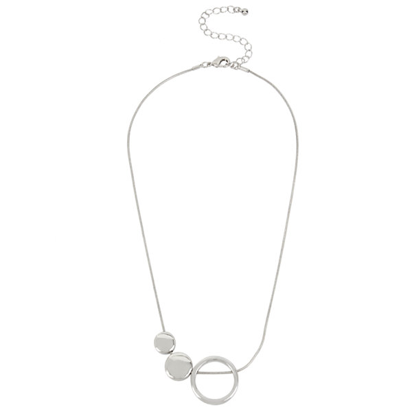 Worthington Womens Pendant Necklace