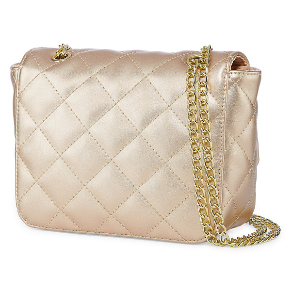 Quilted Mini Flap Crossbody Bag