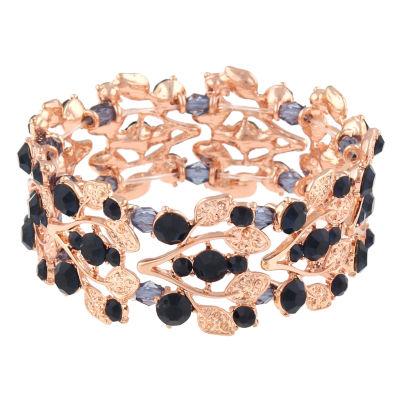 Mixit Womens Blue Stretch Bracelet