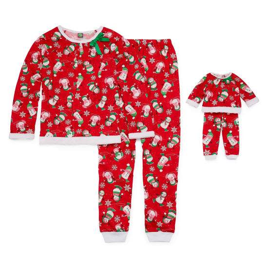 Dollie And Me 2-pack Pant Pajama Set Girls