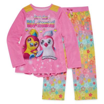 Hatchimals 2-pc. Pant Pajama Set Girls