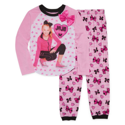 Nickelodeon Long Sleeve Pajamas-Big Kid Girls