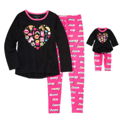 Dollie And Me 2-pc. Pant Pajama Set Girls
