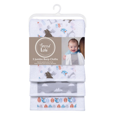 Trend Lab Scandi Forest Burp Cloth