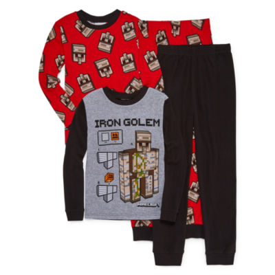 Minecraft 4PC Pajama Set-Big Boy