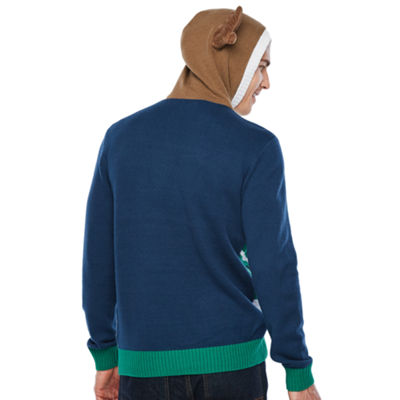 Ugly Christmas Deer Graphic Hoodie