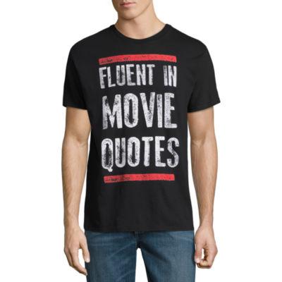 Fluent In Movie Quotes Graphic Tee