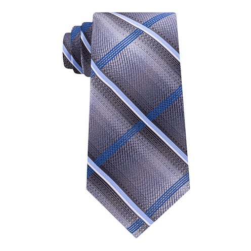 Van Heusen Vh Shaded Plaid Tie