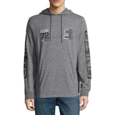 Ecko Unltd Long Sleeve Jersey Pattern Hoodie