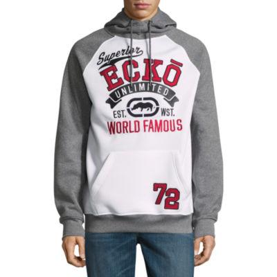 Ecko Unltd Long Sleeve Fleece Logo Hoodie