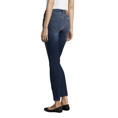 Band Of Gypsies Womens Mid Rise Skinny Fit Jean - Juniors