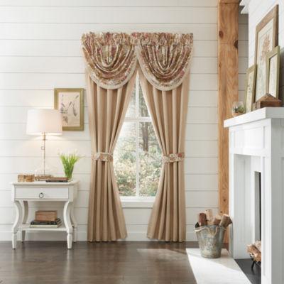 Croscill Classics Camille Rod-Pocket Curtain Panel