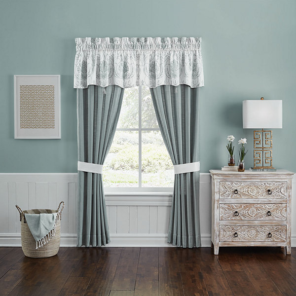Croscill Classics Eleyana Rod-Pocket Curtain Panel