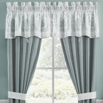 Croscill Classics Eleyana Rod-Pocket Tailored Valance