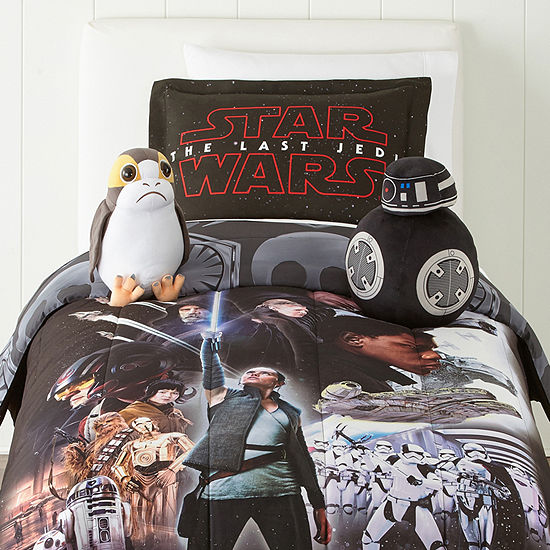 Star Wars Episode 8 Twin/Full Comforter Set