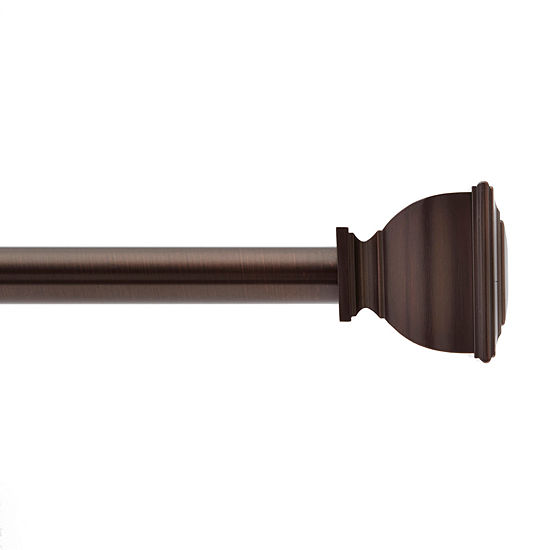 JCPenney Home Caleb Square 3/4 IN One Size Curtain Rod