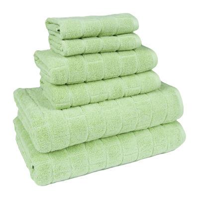 American Dawn Cobblestone Tiles 6-pc. Bath Towel Set