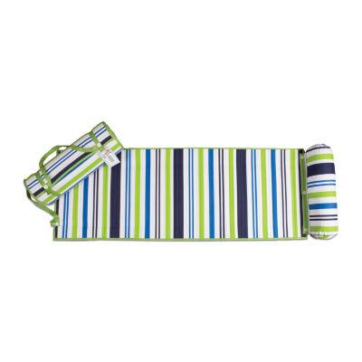 Stripe Rolled Beach Mat