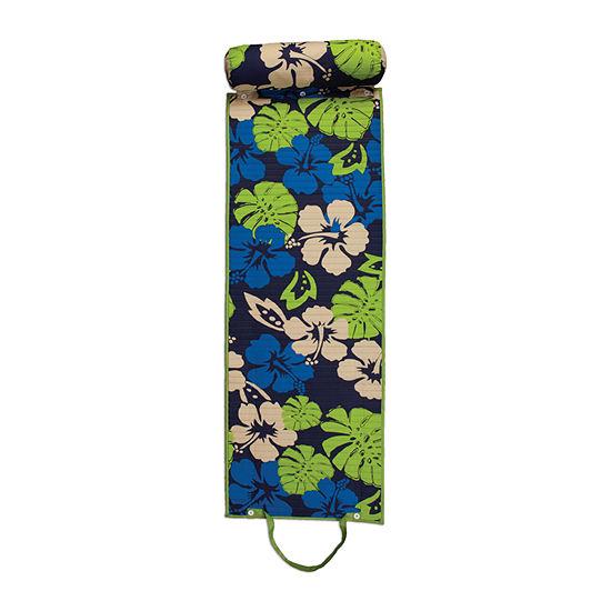 Floral Rolled Beach Mat