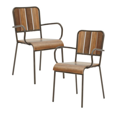 INK + IVY Renu Set of 2 Arm Chairs