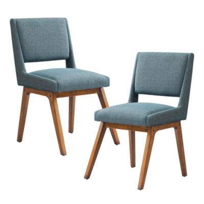 INK + IVY Boomerang Dining Chair Set Of 2