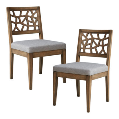 INK + IVY Crackle Set of 2 Dining Chairs