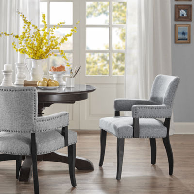 Madison Park Parler Arm Dining Chair
